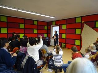 Besuch einer japanischen Schülergruppe