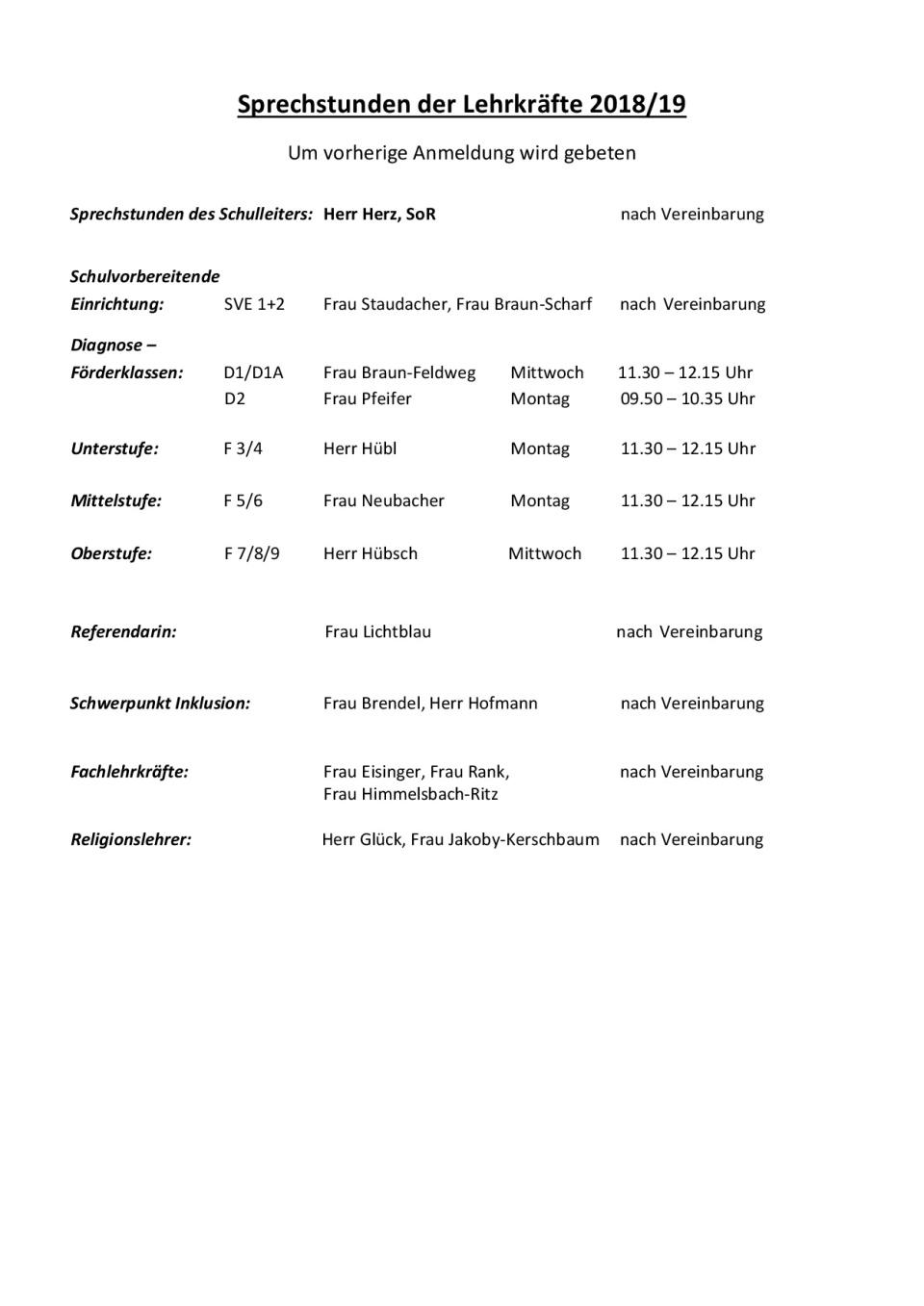 Lehrersprechstunden18_19_homepage